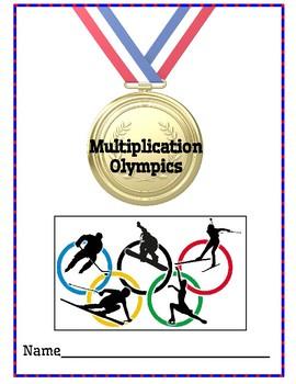 Multplication Olympics - 3rd Grade Unit