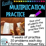 Daily Multiplication Practice