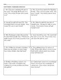 Multplication and Division Word Problems VA SOL 3.4