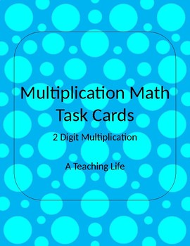 Multuplication Task Cards FREEBIE