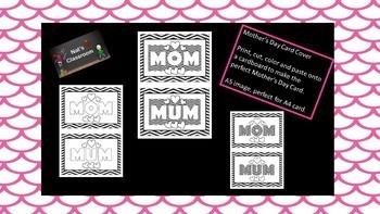 Mum / Mom Card cover