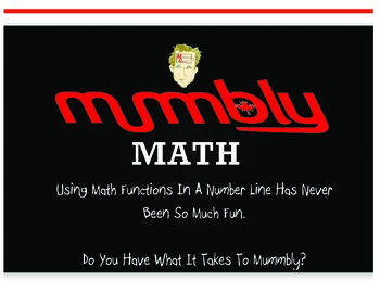 Mummbly Math - Add, Subtract, Multiply, Divide- Scream Mummbly Cool Math Game