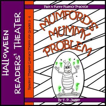 Mummy Readers' Theater & Literacy Activities: Mumford's Mummy Problem-Grades 3-6