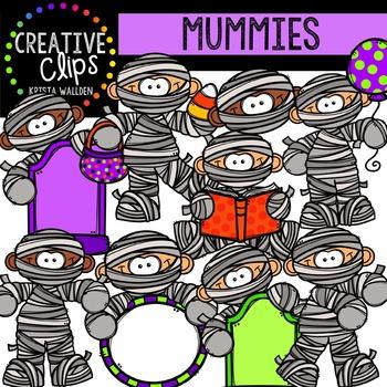 Mummies {Creative Clips Digital Clipart}