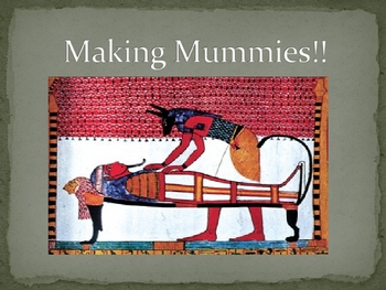 Mummies Lecture
