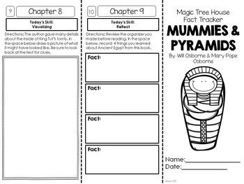 Mummies & Pyramids (Life in Ancient Egypt) Foldable Novel Study Units Bundle