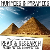 Mummies & Pyramids (Life in Ancient Egypt) Novel Study Units Bundle