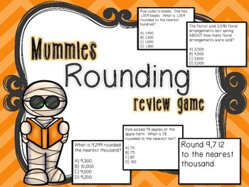 Mummies Rounding Review Game