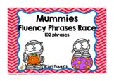 Mummies Sight Word Fluency Phrases Race
