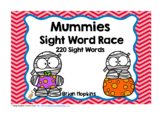 Mummies Sight Word Race