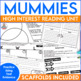 Test Prep and Close Reading Activity Mummies of Egypt