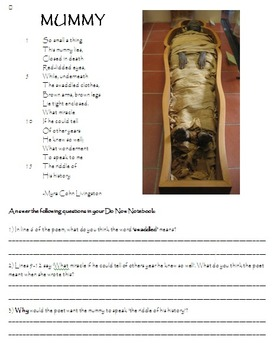 Mummies and Mummification in Ancient Egypt