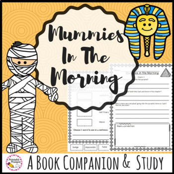Novel Study Unit to use with Mummies in the Morning