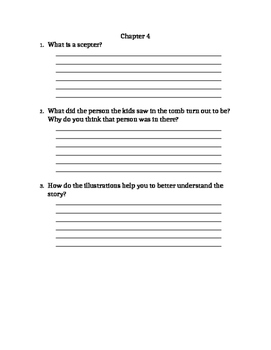 Mummies in the Morning Comprehension Question