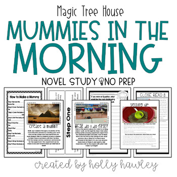 Mummies in the Morning-A Magic Tree House Activity