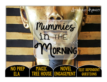 Mummies in the Morning: Text Dependent Questions
