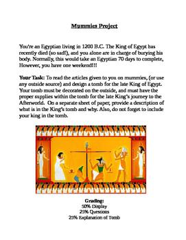 Mummification Project in Egypt