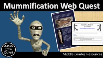 Mummification Webquest