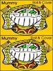 Mummy Activities: Mummy Roll & Cover Halloween Math Activity Packet