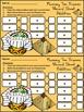Mummy Activities: Mummy Halloween Ten Frames Math Activity Packet
