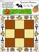 Mummy Activities: Pyramids & Mummies Halloween Tic-Tac-Toe Game