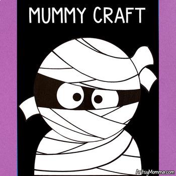 Mummy Craft & Story Starter Templates