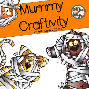 Mummy Craftivity with Coffee Filters for Skippyjon Jones and Mummy Trouble