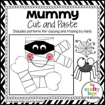Mummy Cut and Paste