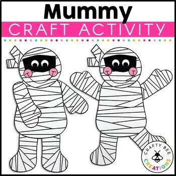 Mummy Cut and Paste