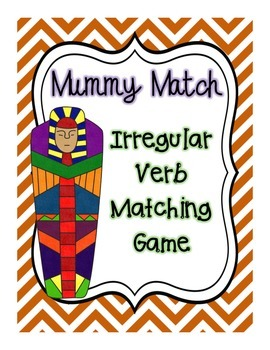 Mummy Match: Irregular Verb Matching Game