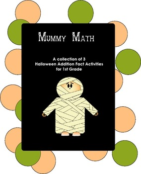 Mummy Math-- 3 Activities