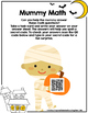 Halloween Math Task Cards-Mummy Math Center