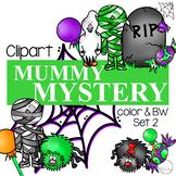 Mummy Mystery Clipart {Halloween Clipart}