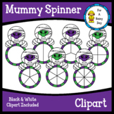Mummy Spinner Clipart