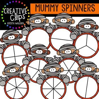 Mummy Spinners {Creative Clips Digital Clipart}
