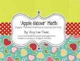 Munch & Crunch (Apple Themed Addition & Subtraction Fun)