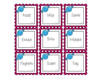Munch! Munch! Candy Crunch! Synonyms & Antonyms