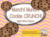 Munch! Munch! Cookie CRUNCH! Sight Word Game