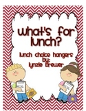 Munch! Munch! What's for Lunch? Lunch Count Labels