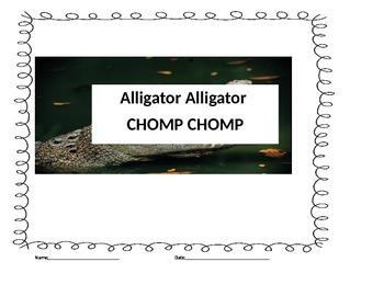 Munch Munch alligator alligator