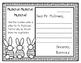 Muncha! Muncha! Muncha!--Response Journal for K-2