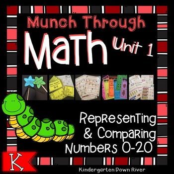 Munch Through Math Kindergarten Unit 1: Representing & Com