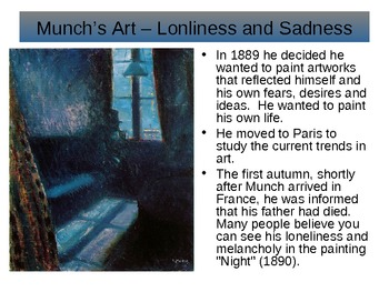 "Munch and ""The Scream"""