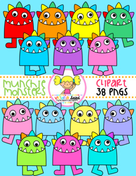 Munchie Monsters Clipart