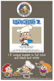 Munchies Cartoon Clipart Vol. 2 for all ages and grades