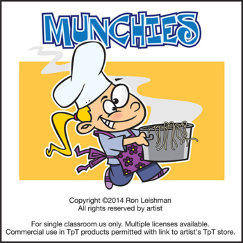 Munchies Cartoon Clipart