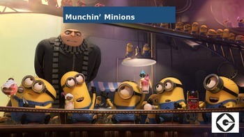 Munchin' Minions Food Groups Interactive PowerPoint