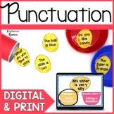 Types of Sentences Punctuation Digital & Printable Literac