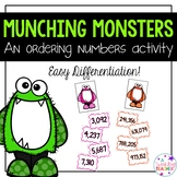 Munching Monsters: An ordering and comparing number activity