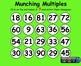 Munching Multiples: An interactive Smartboard game to teach number facts.